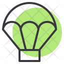 Parachute Skydiving Fly Icon