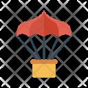 Parachute Airballoon Travel Icon