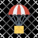 Parachute Fly Airballoon Icon