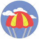 Parachute Fly Air Icon