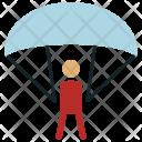 Emergency Parachute Sports Icon