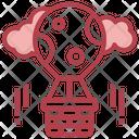 Parachute Balloon Icon