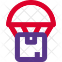 Parachute Box Package Help Icon