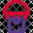 Parachute Box Icon
