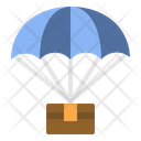 Parachute delivery Icon