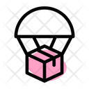 Parachute Delivery Parachute Air Delivery Icon