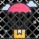 Parachute Delivery Parachute Air Icon