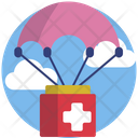 Parachute Help Icon