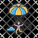 Parachuting Icon