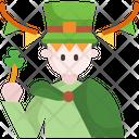 Parade St Patrick Day Man Icon