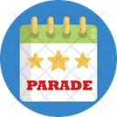 Parade Celebration Decoration Icon