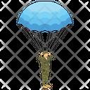 Paraglider Parasailing Soaring Icon