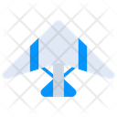 Jet Glider Aircraft Icon
