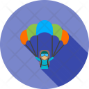 Paragliding Balloon Adventure Icon