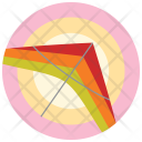 Paragliding Fly Icon