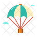 Paragliding Perachute Advanture Icon