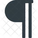 Paragraph Symbol Type Icon