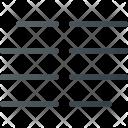 Paragraph Collumn Format Icon