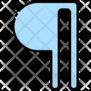 Design Paragraph Word Icon