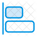 Paragraph Alignment Center Icon