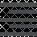 Right Alignment Paragraph Alignment Alignment Symbol Icon