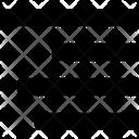 Right Alignment Paragraph Align Icon