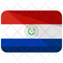 Paraguay Flag Country Icon