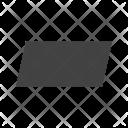 Paralellogram Icon