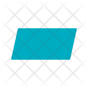 Paralellogram Shape Icon