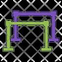 Parallel Bars Sport Icon