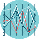 Parallel Coordinates Graph Analytics Icon