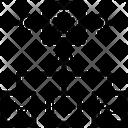 Parallel Data Analysis Icon