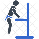 Parallel Parallel Dips Arm Icon