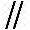 Parallel Lines Condition Icon