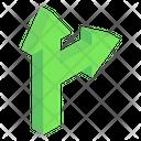 Parallel Road Arrows Icon