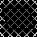 Parallelogram Icon
