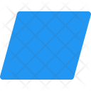 Parallelogram Shapes Icon
