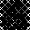 Paralysis Paralyzed Stroke Icon