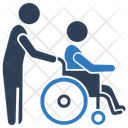 Paralyzed Patient Icon