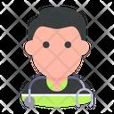 Paramedic Man Professional Icon