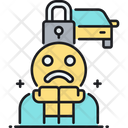 Paranoia Paranoid Fear Icon