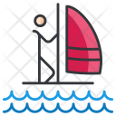 Parasailing Icon