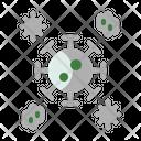 Parasite Virus Bacteria Icon