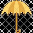 Parasol Protection Rain Icon