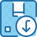 Product Unload Box Icon