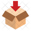 Parcel Packaging Box Icon
