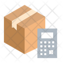 Parcel Calculate Icon