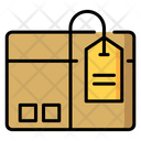 Parcel Shipping Box Icon