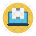 Parcel Delivery Online Icon