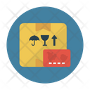 Parcel Delivery Carton Icon